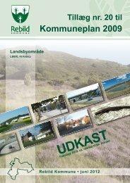 Tillæg nr. 20 Udkast - Bilag til TMU. 12.06.2012 - Rebild Kommune