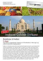 Indiens Gyldne Trekant - Team Benns