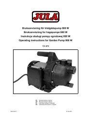 Instrukcja obsługi (500.1 KB - pdf) - Jula