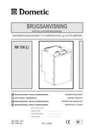 BRUGSANVISNING - Electrolux