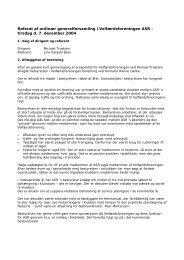 generalforsamling 2004 - ASR