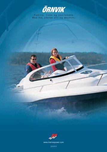Familie, fiske og sportsbåde Med høj ydelse stil og økonomi