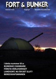 nr 4 2007 Grund för Pdf.indd - Fort & Bunker