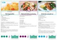 Opskrifter - Bailine