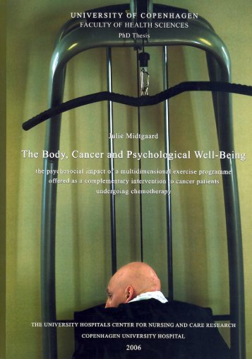 faculty of health sciences - Universitetshospitalernes Center for ...