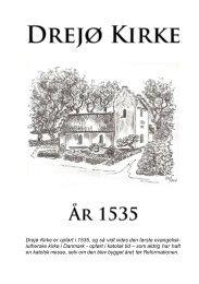 Drejø kirkes historie