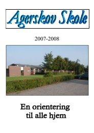 Agerskov Skoles personale 2007/2008 - Skoleporten - s hjemmeside