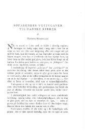 Søfarendes votivgaver til danske kirker - Handels- og Søfartsmuseet