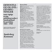 bygningsRegistrant - Museum Sønderjylland