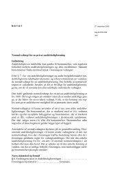 Normalvedtægt for en privat andelsboligforening Indledning ... - W2L