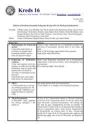 Referat af møde 10. juni
