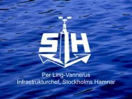 Per Ling-Vannerus, Stockholms Hamnar - IVA