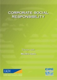 corporate social responsibility - LKDI