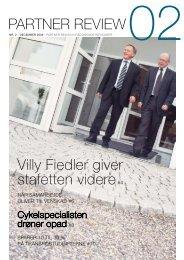 Villy Fiedler giver stafetten videre#4 Partner reView - Partner Revision