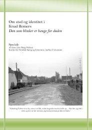 Om sted og identitet i Knud Romers - Aarhus Universitet