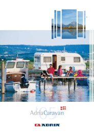 Download brochure - ADRIA DANMARK