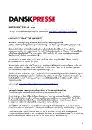 Nyhedsbrevet Dansk Presse uge 38 - Danske Dagblades Forening