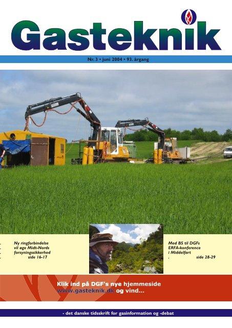 Gasteknik nr. 3, juni 2004 [PDF] - Dansk Gas Forening
