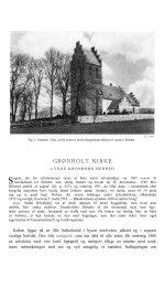 GRØNHOLT KIRKE - Danmarks Kirker - Nationalmuseet