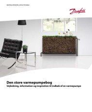 Den store varmepumpebog - for private - Danfoss