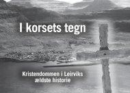 I korsets tegn - History Press Faroe Islands