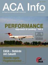EASA – Behörde mit Zukunft Beamte regeln Flugdienstzeiten ...