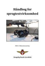 Håndbog for KDA sprogtestvirksomhed. 3. udgave.