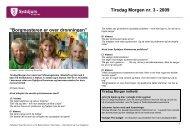 Tirsdag Morgen nr. 3 - 2009 - Syddjurs Kommune