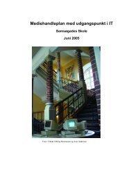 Handleplan2005 - Samsøgades Skole
