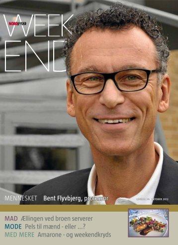 MENNESKET Bent Flyvbjerg, professor MAD Ællingen ved broen ...