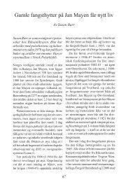 Gamle fangsthytter på Jan Mayen får nytt liv - Riksantikvaren