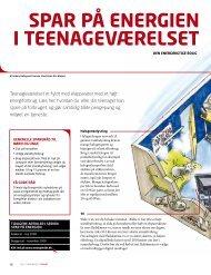 SPAr På energIen I teenAgeværeLSet - EnergiMidt