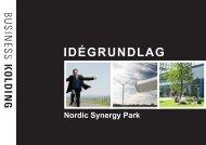 Idégrundlag for Nordic Synergy Park - Hjarup Kirke - Vamdrup