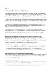 Sociale klausuler – krav om handlingsplaner - Nørresundby ...