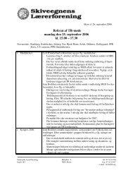 Referat af TR-møde mandag den 25. september 2006 kl. 15.00 ...