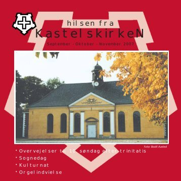 September - oktober - november 2007 - Kastelskirken
