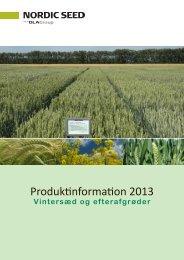 Produktinformation 2013 - Himmerlands Grovvare A/S