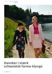 Dansker i stærk schweizisk farma-klynge - Pharmadanmark