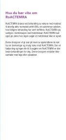 Hva du bør vite om - Roche i Norge - Page 3