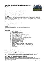 14.10.2010 Referat fra afdelingsbestyrelsesmøde - Boligforeningen 3B