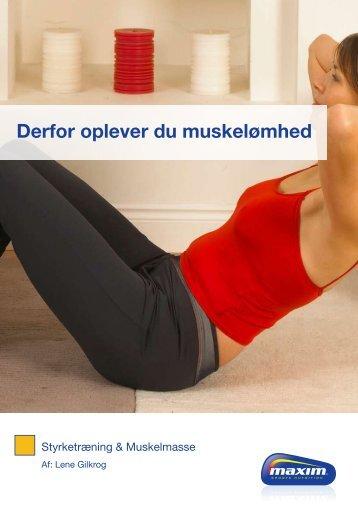 Derfor oplever du muskelømhed