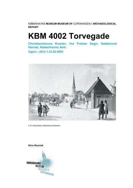 KBM4002 - Københavns Museum