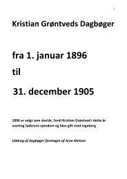 fra 1. januar 1896 til 31. december 1905 - Bjergby - Mygdal ...
