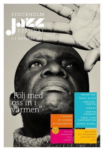 Stockholm Jazz Festival 2012 - About