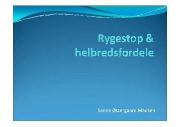 Sanne Østergaard Madsen - Nordjysk Sundhed