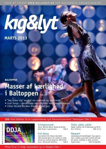 kig & lyt Marts 2013 - Ballerup Kommune