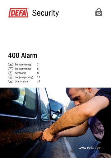 400 Alarm - Defa.com
