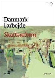 Danmark i arbejde Skattereform - SF