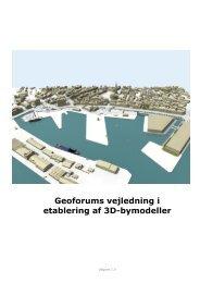 Geoforums vejledning i etablering af 3D-bymodeller - Geoforum Danmark