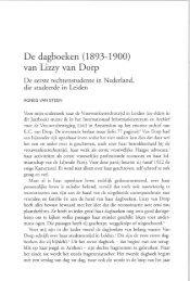 van Lizzy van Dorp - Historische vereniging Oud Leiden